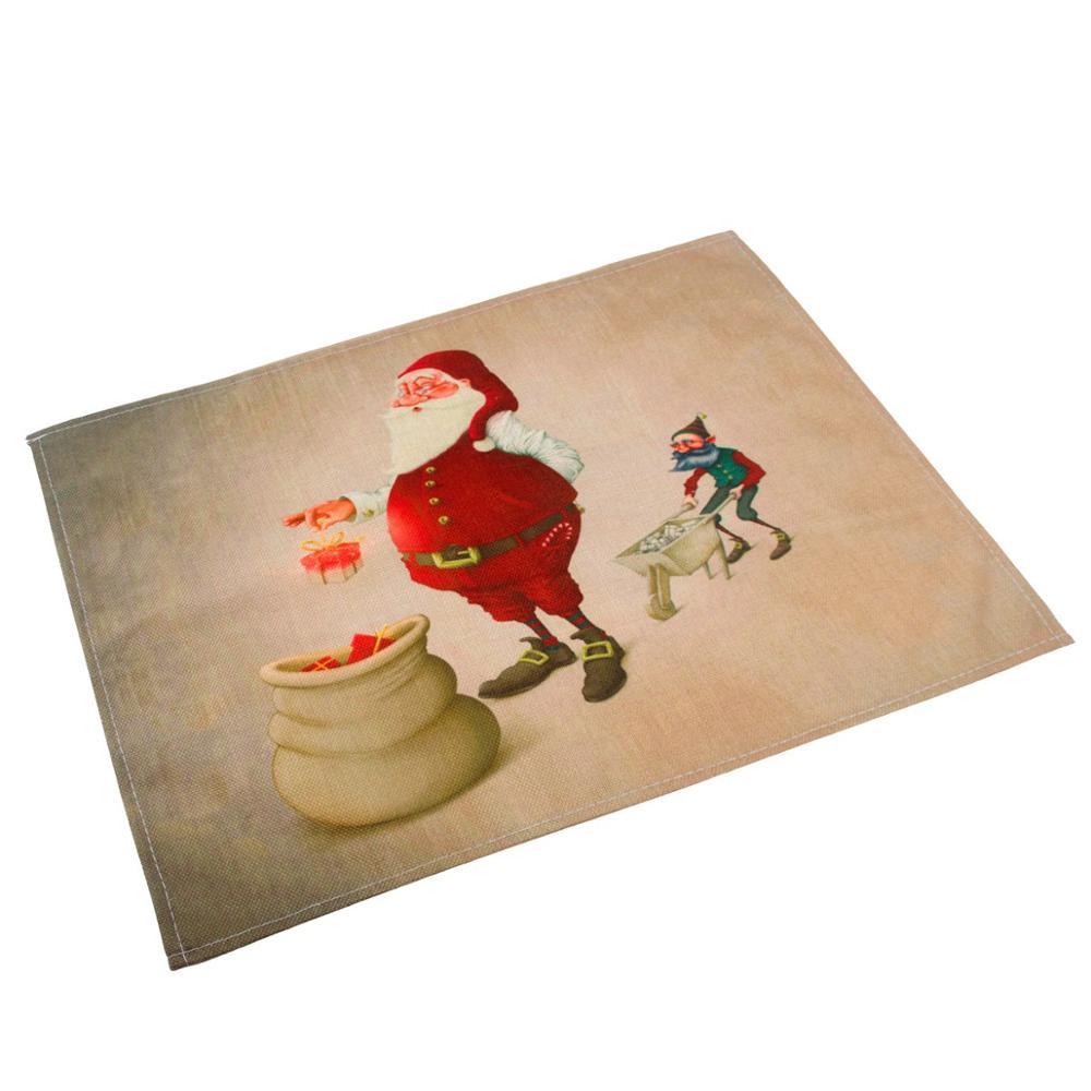 2m Christmas Paper Pull Flower Banner Santa Claus Snowman Lantern Honeycomb Ball