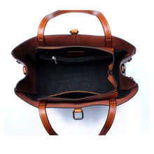 Vintage Crossbody Large Capacity Office Hand Bag