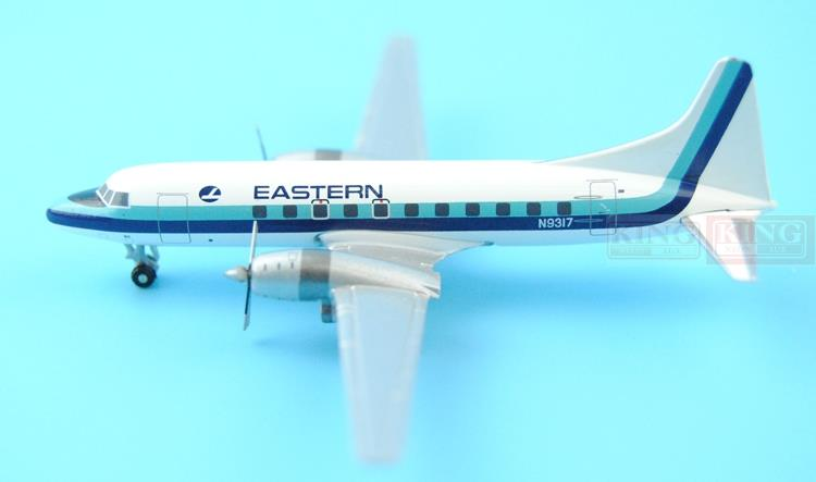 GJEAL1072 GeminiJets United States Eastern Airlines N9317 1:400 CV-440 commercial jetliners plane model hobby spike wings xx4380 jc china eastern airlines b 6126 1 400 people s network a330 300 commercial jetliners plane model hobby