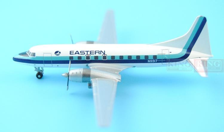 GJEAL1072 GeminiJets United States Eastern Airlines N9317 1:400 CV-440 commercial jetliners plane model hobby gjcoa1079 geminijets continental airlines n14832 1 400 atr 42 commercial jetliners plane model hobby