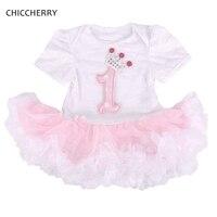 1 Year Girl Baby Birthday Dress Kids Party Vestidos Infantis Lace Girls Dresses Summer 2016 Baby