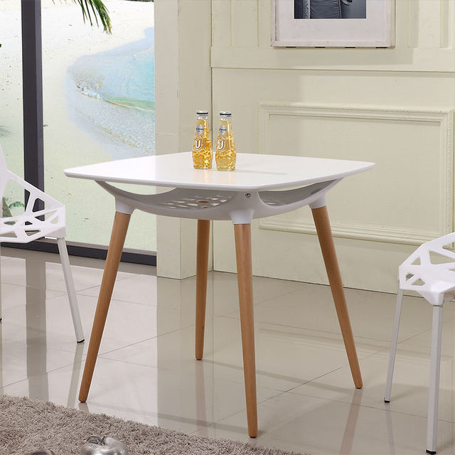 simple fashion home restaurant dining tables small apartment ...