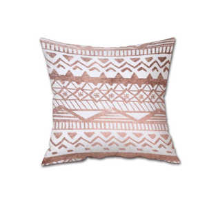 Image 3 - 45*45 Colorful Silk Satin Pillowcases Cover Super soft fabric Home Cushion Simple Geometric Throw Bedding Pillow Case Pillow Cov