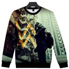 Music DJ Alan Walker 3D Hoodie Men Alan Olav Walker Winter Fashion Streetwear Hip Hop Funny Crewneck Sweatshirt Men's Sportswear