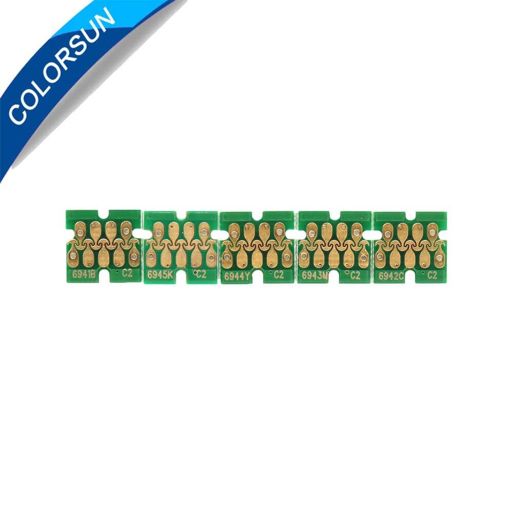 Upgrade T6941-T6945 T6941 Cartridge Chip untuk SureColor T3000 T3070 T5070 T7070 T3200 T5200 T7200 T3270 T5270 T7270 Printer