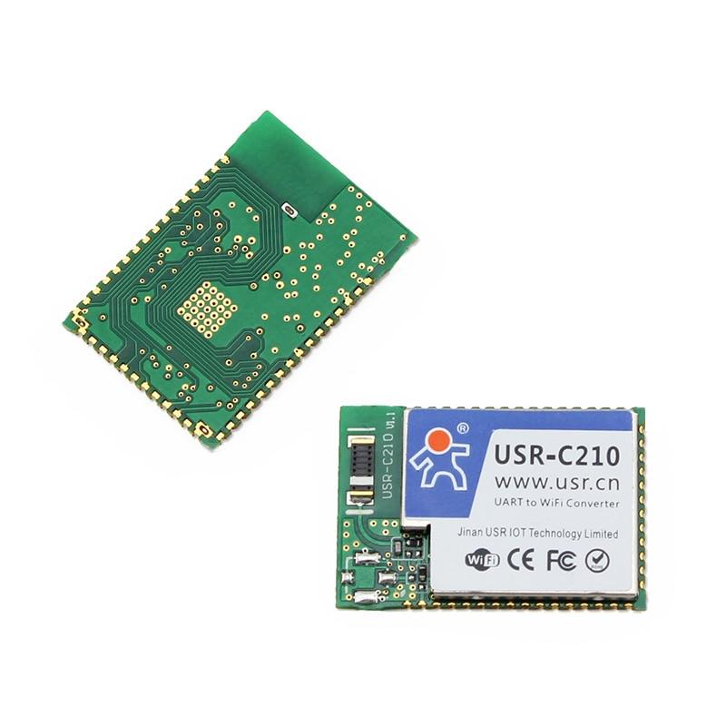 Q012-2 USR-C210 Industrial Low Power Serial TTL UART to Wifi Module Converter Flow Control RTS/CTS Built-in Webpage usr g301c 3g module uart usb to cdma 1x and cdma ev do