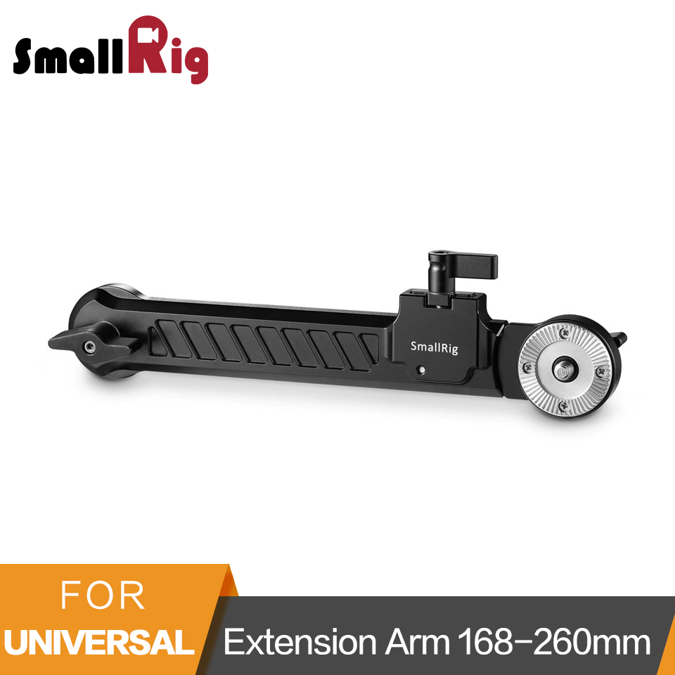 SmallRig Extension Arm with Arri Rosette 168-260mm Extension Range -1870 door lock motor general purpose actuator kit door lock motor keyless entry concentrated for universal car 12 v power door lock