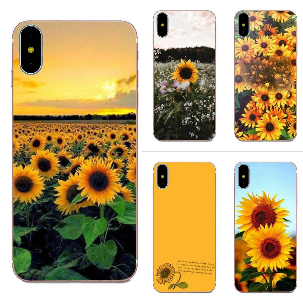 Sunfowers Fantasy Show For Xiaomi Mi3 Mi4 Mi4C Mi4i Mi5 Mi 5S 5X 6 6X A1 Max Mix 2 Note 3 4 Soft Capa Case image