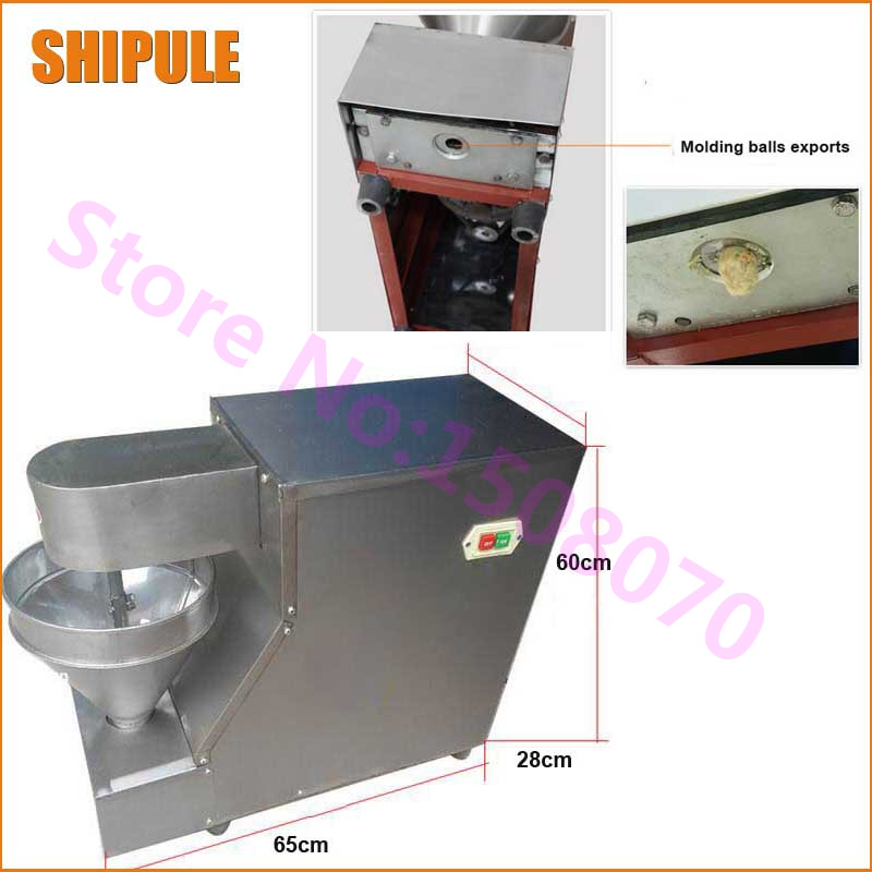 SHIPULE business opportunities 2017 china wholesale small chicken beef pork fish meat ball making machine paul kossof business franchising in china