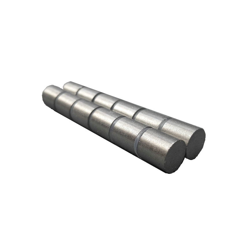SmCo Magnet Disc Dia 8x8 mm rod cylinder grade YXG28H 350 degree C High Temperature Permanent