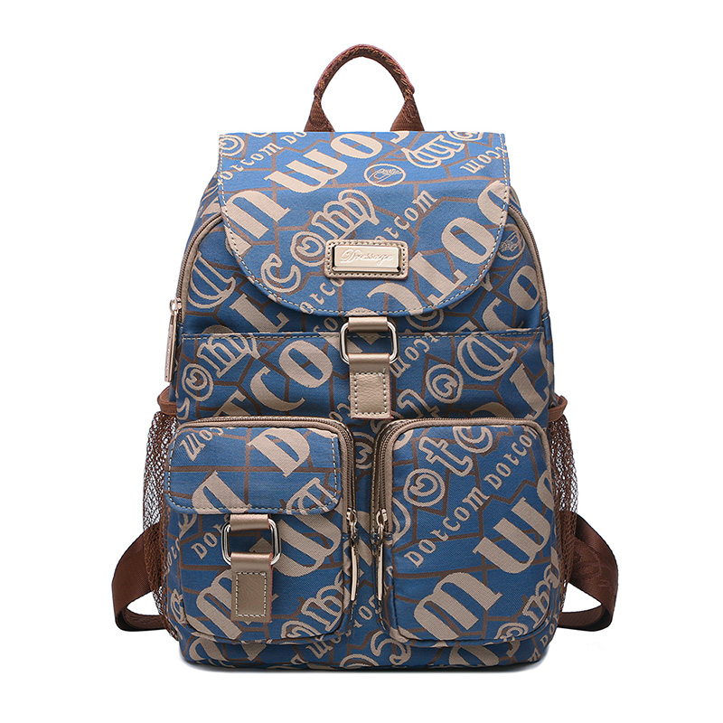 2018 Real New Style Leisure Fashion For Women Backpacks Letter Canvas Softback School Bags tangimp drawstring backpacks embroidery dear my universe cherry rocket printing canvas softback man women harajuku bags 2018