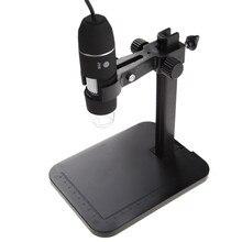 Портативный USB Цифровые микроскопы 1000×8 LED 2mp Цифровые микроскопы эндоскопа Лупа Камера + лифт подставкой + Калибровка правитель