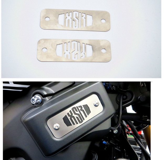 stainless fuse box top plates for yamaha xsr 900 xsr900