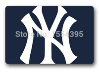 2015 New Custom NY Baseball Non Slip Door Mat Cover Non Slip Machine Washable Outdoor Indoor