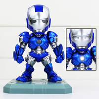 Super Hero Action Figure IRON MAN Mark 3 Light Emitting Function Action Figure Collectible Model Toys