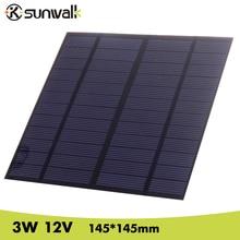3W 12V DIY Solar Cell 145*145mm 250mAh Polycrystalline PET + EVA Laminated Mini Solar Panel for Solar Systemt and Education 810mm 25m solar eva film sheet encapsulant for diy solar cell