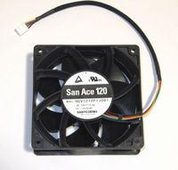 Computer Case PC Cooling Fan For Sanyo Denki 120mm x 38mm Ultra High Airflow Fan 4 Pin PWM 224 CFM 9GV1212P1J091
