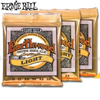 Ernie Ball Earthwood Acoustic Guitar Strings Phosphor Bronze Alloy Made In USA High Quality 2148 2146