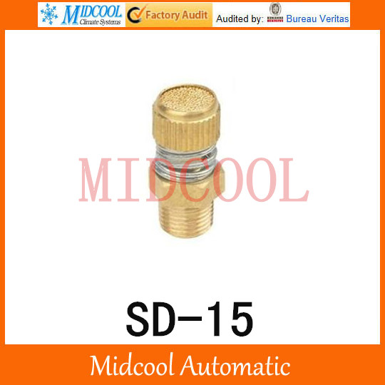 SD 15 SD Type of Timing Muffler Pneumatic components solenoid valve deadened the noise of the