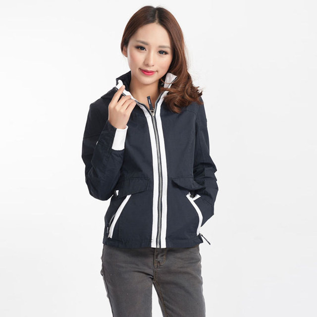 d9981aac56b3d Short design slim elegant coat spring and autumn double layer cotton net  women fashion outerwear white