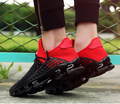 Luxury Brand Men Shoes  Casual Shoes Fashion Sport Jogging Trainers Breathable Black White Red Lover's Walking Shoe
