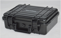 280X230X98MM ABS Tool Case Toolbox Impact Resistant Sealed Waterproof Equipment Camera Case With Pre Cut Foam