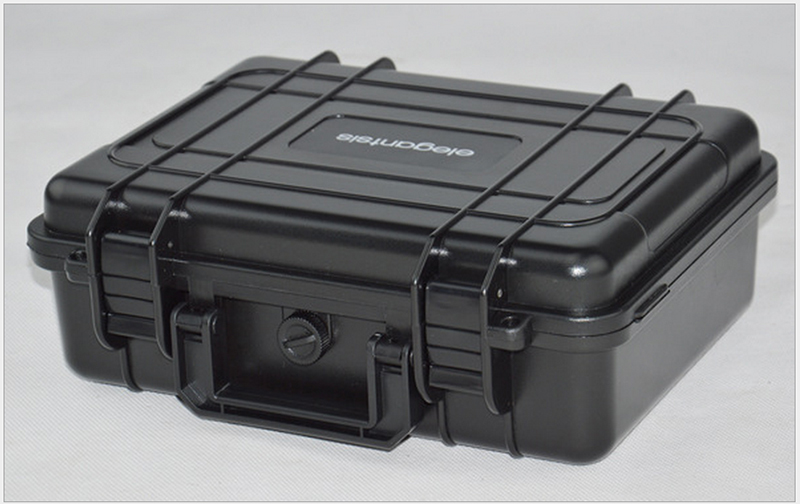 280X230X98MM ABS Tool Case Toolbox Impact Resistant Sealed Waterproof Equipment Camera Case With Pre-cut Foam Shipping Free
