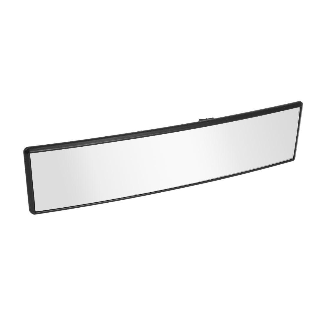 300mm largo Car rear view mirror per uso interno curva panorama posteriore interno nero