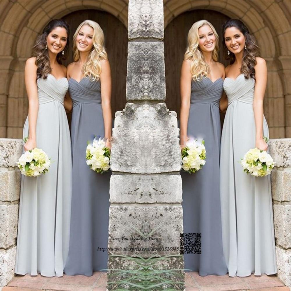 Small Crop Of Gray Bridesmaid Dresses