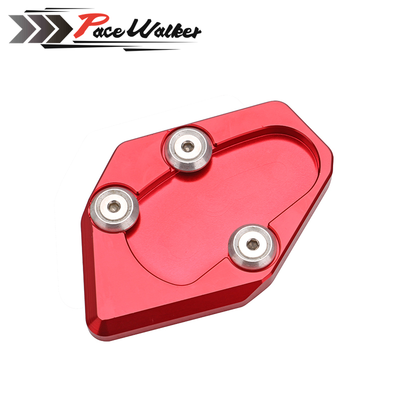 motorcycle side stand enlarger cnc kickstand side stand extension enlarger pate pad For Yamaha TMAX 530 12-16 tmax530 2012-2016