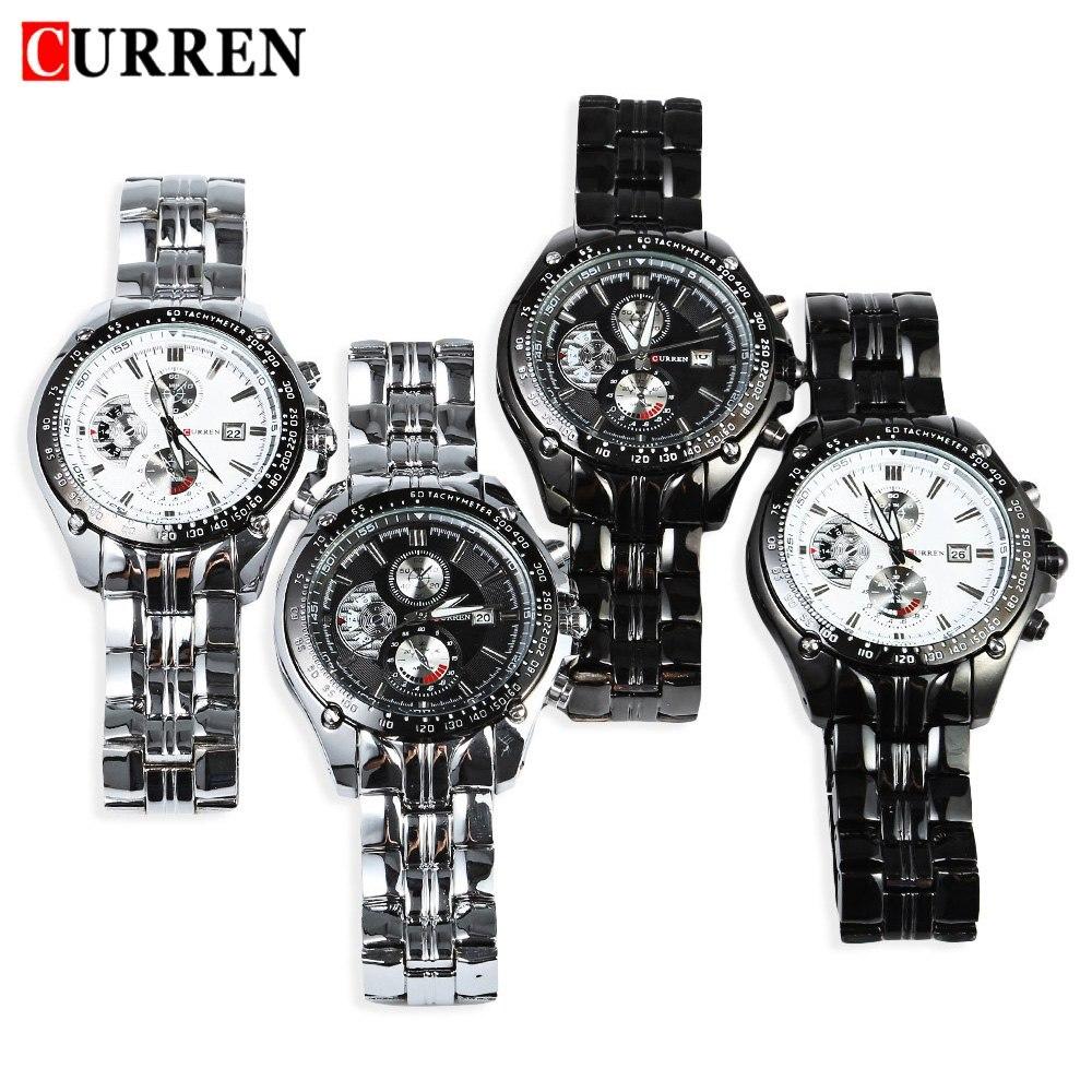 2018 New Curren 8083 Horloges Heren Luxe Merk Militaire Heren horloge - Herenhorloges - Foto 5