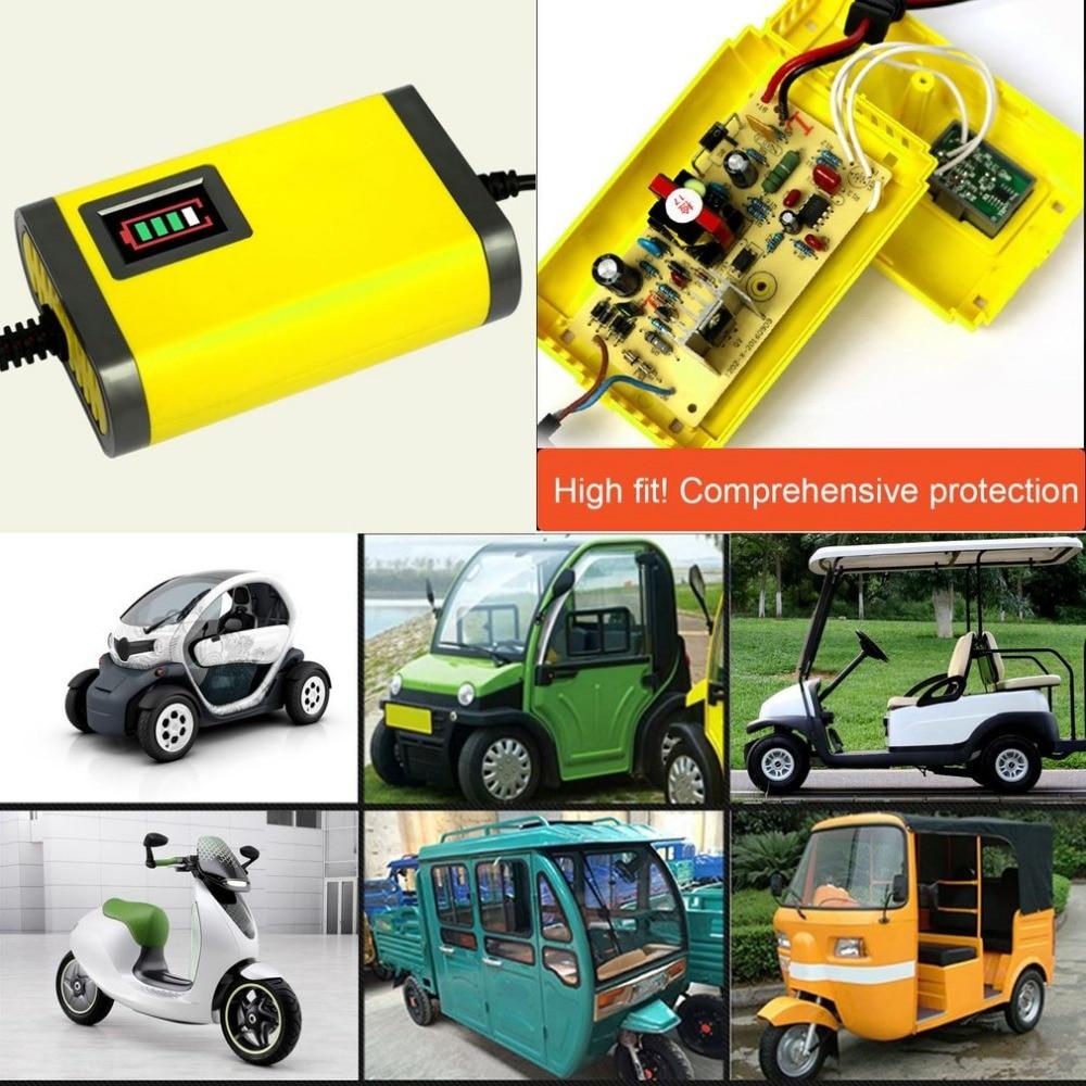 Горячая Распродажа мини Портативный 12V 2A автомобиля Батарея Зарядное устройство адаптер Питание мото Авто Смарт Батарея Зарядное устройство светодиодный Дисплей