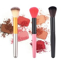 Loose Powder Foundation Brush Makeup Brushes 1PCS Wooden Cosmetic Womens Fashion beauty tools