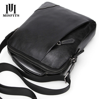 New Genuine Leather Messgner Bags For Men High Quality Business Handbag Casual Male Single Shoulder Bag Fashion Sling P
