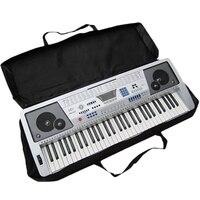 61 Key Schwarz Klaviertastatur Tasche Elektronische Musik Tragen Oxford Tuch Tote Musik Tastatur Tasche