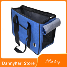 DannyKarl Pet Denim Bag Portable Fashion Dog Outing Diagonal Packpack Cat Rabbit Handbag
