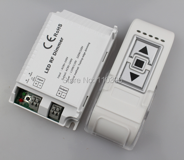 3 key draadloze afstandsbediening triac rf led dimmer controller voor - Lamp accessoires - Foto 2