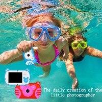 SJ6 Mini Digital Kids Camera Waterproof Cartoon Cute Camera Toys Children Birthday Gift Toddler Toys camera
