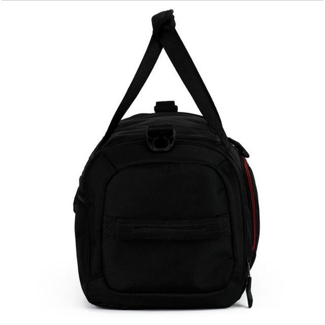 6f90db0a3a38 Online Shop Black Men Training Bag 55L Surper Capacity Outdoor Sport ...