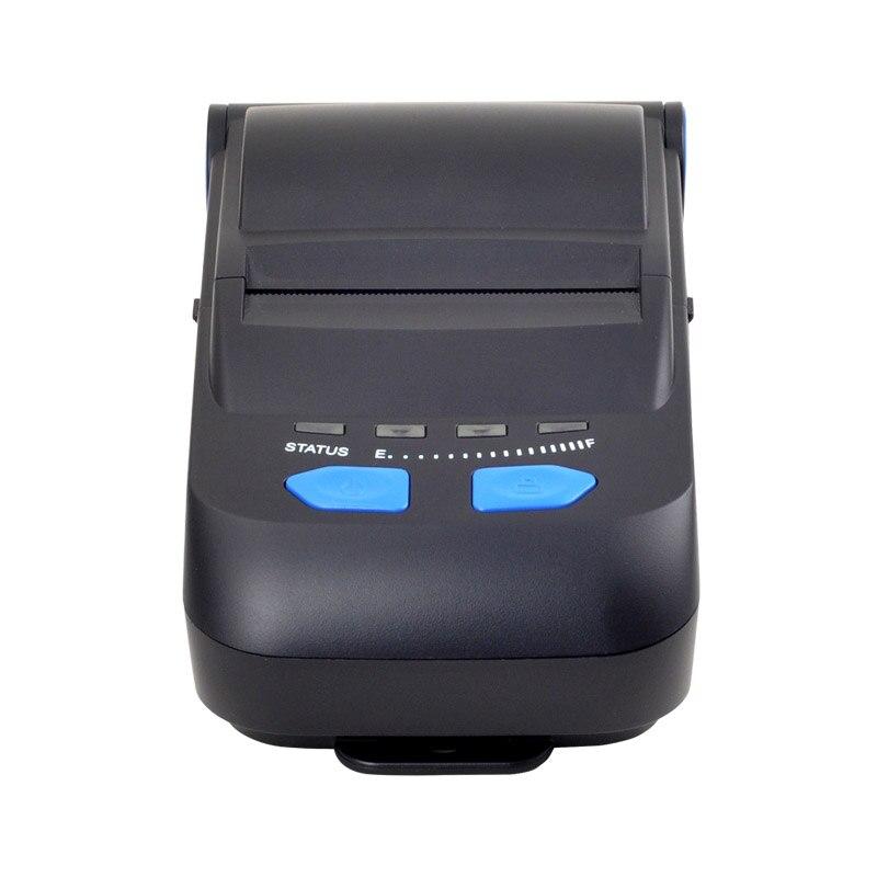 Neue angekommene Tragbare bluetooth drucker Bluetooth + usb-schnittstelle thermische empfang drucker