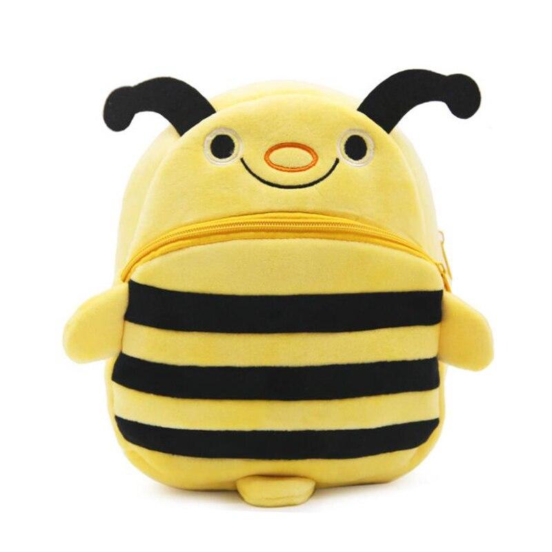 Reether милый пчелы ребенка Дети Рюкзак Плюшевые прекрасный мультфильм рюкзак детей мале ...