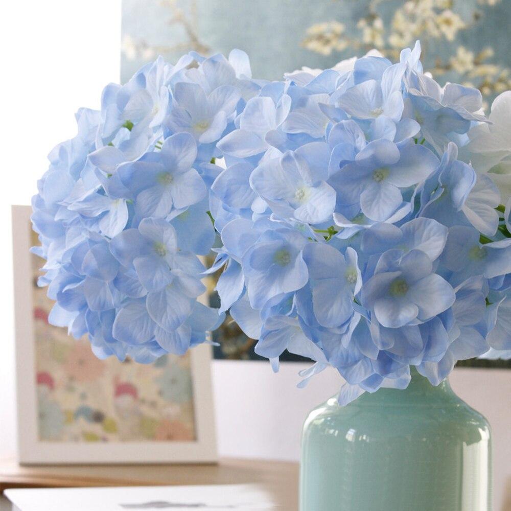 New Fake Flower Home Desktop Decor Pompom Silk Flowers Bouquet