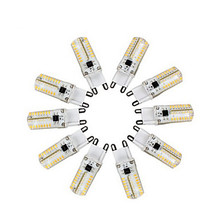 10pcs Spotlight 64*3014SMD 3W G9 LED Lamp corn led  Mini Bulb High Power 360 Degree Replace Halogen 220V