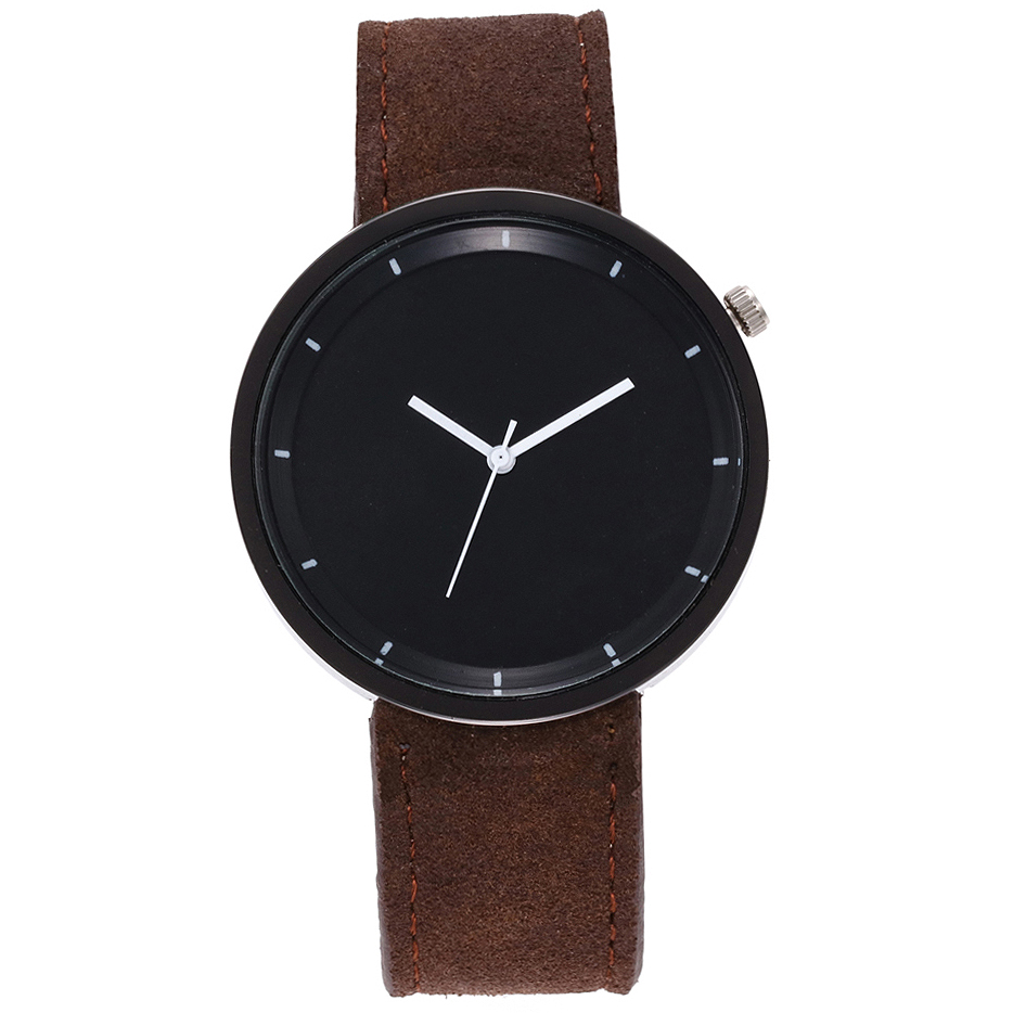 <font><b>Fashion</b></font> <font><b>Unisex</b></font> <font><b>Montre</b></font> <font><b>Femme</b></font> <font><b>Reloj</b></font> <font><b>Mujer</b></font> <font><b>Leather</b></font> Stainless Men's Watch Wholesale Quartz Wrist Watches Women Hot Fast Shipping image