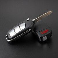 Entrada sem chave de carro Chave Inteligente Chave De Controle Remoto do Alarme 3 botões 433 Mhz com o chip ID46 para JAC S3 S5 Antes 2016