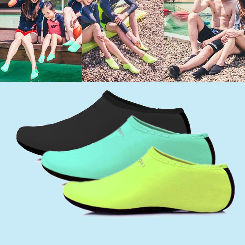Men Women Water Sport Shoes Nylon Neoprene Mesh Aqua Socks Yoga Exercise Pool Beach Dance Swim Slip Surfing Shoes