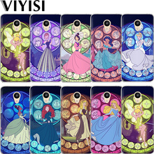 VIYISI Princess For Meizu U20 U10 M6 5 Note M5S 5C M3s 3Note Pro6 Phone Case Soft TPU Silicone Shell Coque Back Bags Etui Fundas