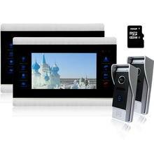 Homefong 7 Inch TFT Touch Screen LCD Color Video font b Door b font Phone Doorbell