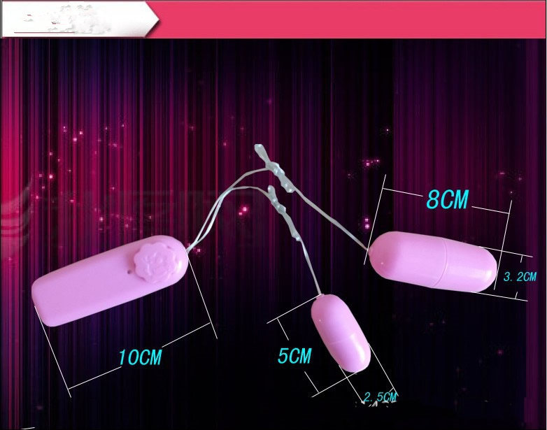 HB010 Double Jump Egg sex toys Bullet  (6)