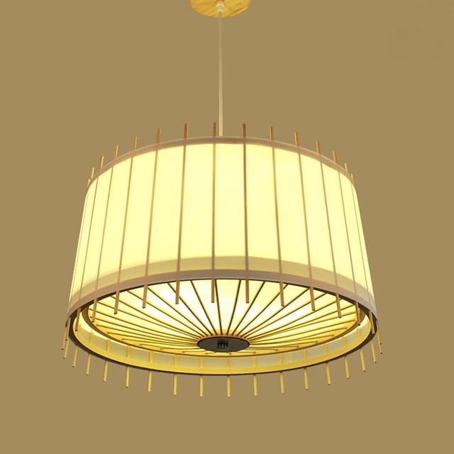 Japanse Chinese antieke hanglamp minimalistische handgeschilderde ...